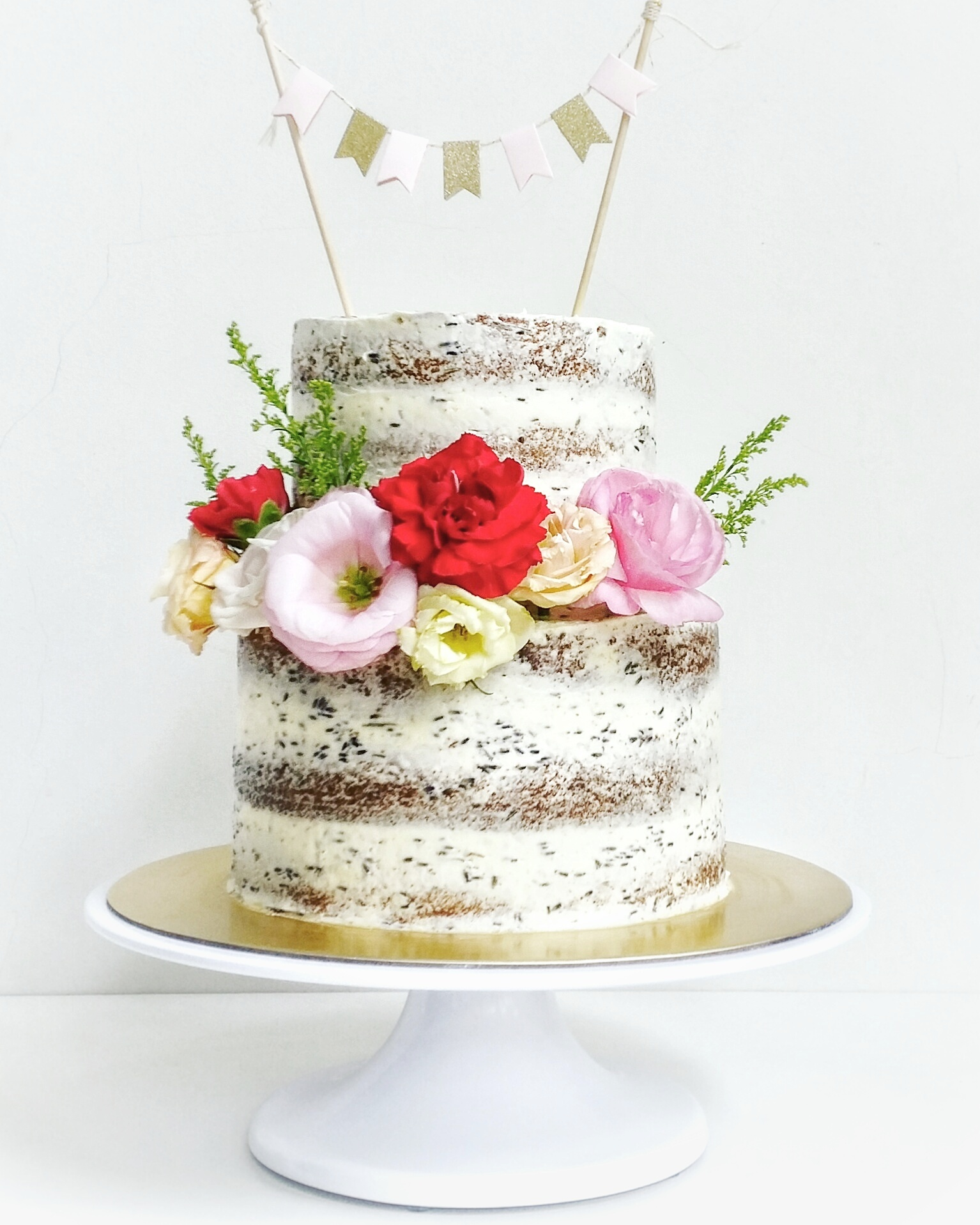 Chocolate Lavender Earl Grey Cake