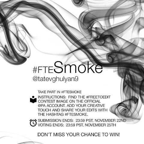 contest smoke editing