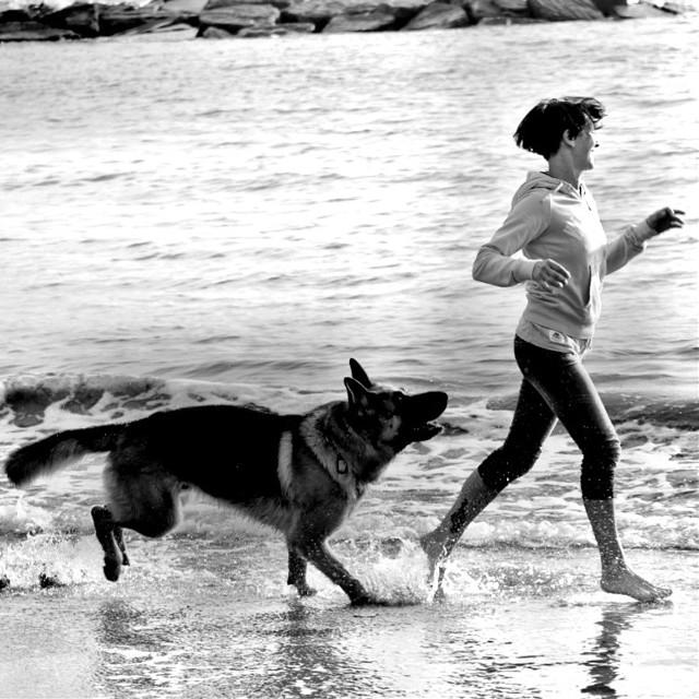 #bianconero #giocare #spiaggia