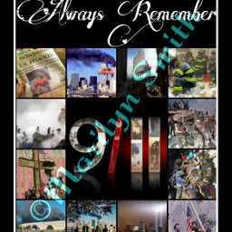 collage emotions september11th 911
