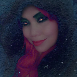selfie scary eyes artistic holloween