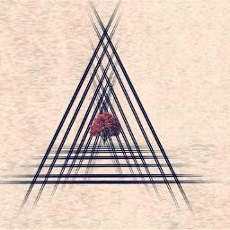 shapes triangles pencilart picsart drawing graphics customclipart