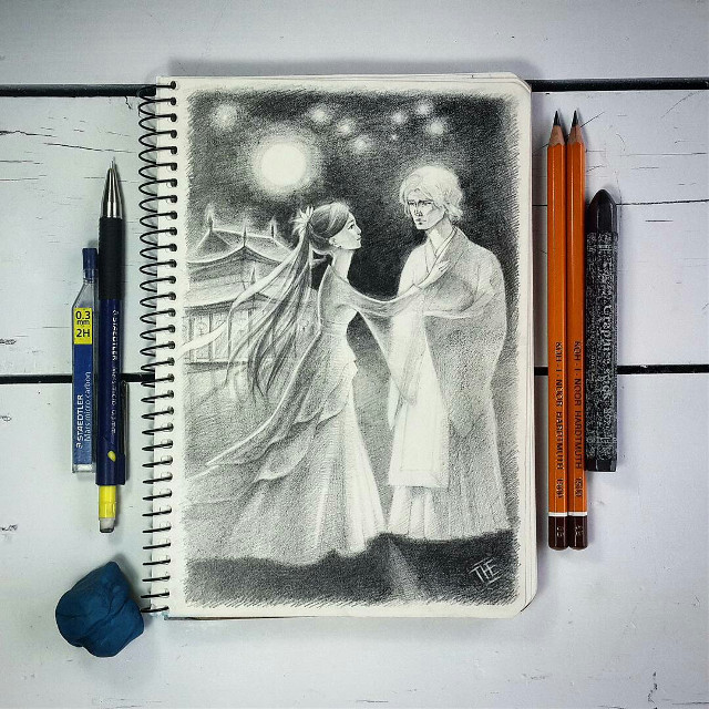 #freetoedit #WAPsketch #dcsketch #portrait #halloween #art #drawing