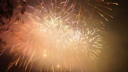 fireworks fog