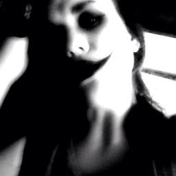 selfie creepy black