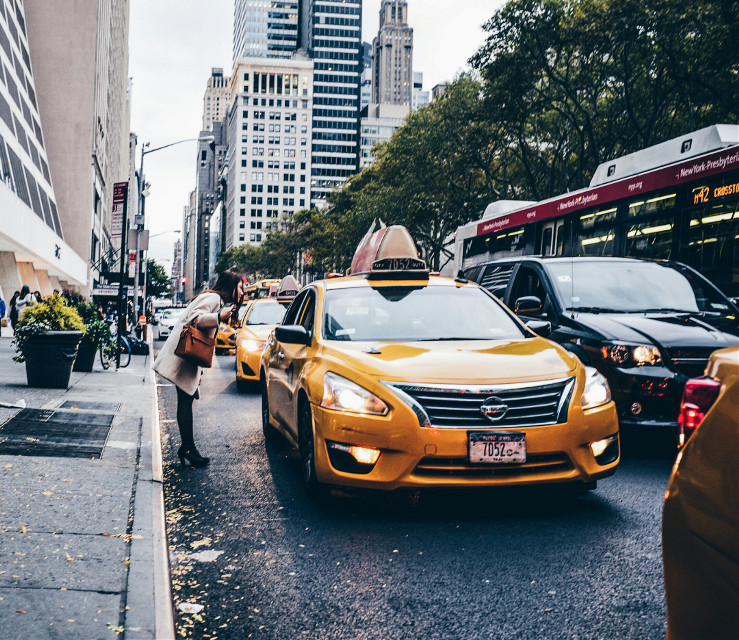 #grittystreets #manhattan #nyc #lady #usa #people #photography #colorful #urbanandstreet #urban #street #fuji #fashion #taxi #newyork   #followme