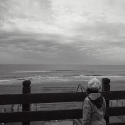 blackandwhite emotions photography sea