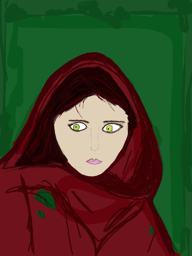 #Iconsandwomen #SteveMcCurry  #wdpeyes #green #eyes #red
