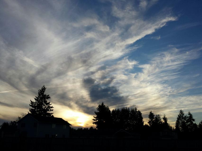 #Clouds #washington