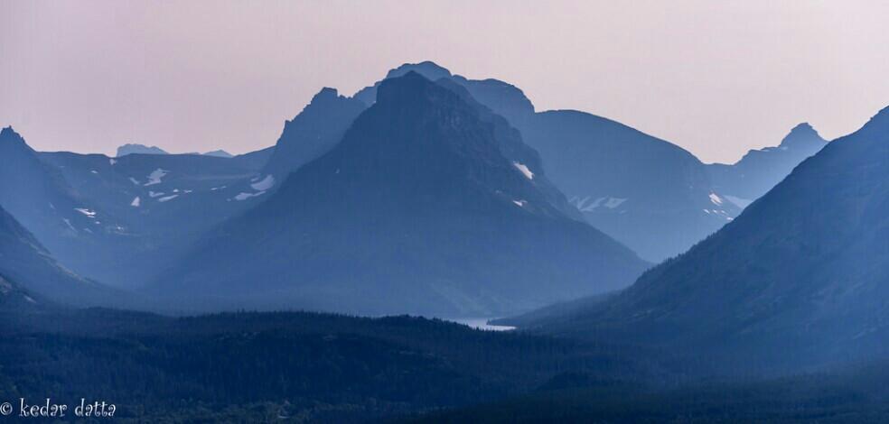 Sunset on the hills at Glacier national park #sunset #summer #travel #nature