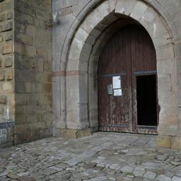 door castle travel holiday view