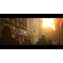 sarajevo bosnia bascarsija sunset people