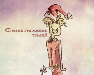 cartoon draw drawing comic christmas