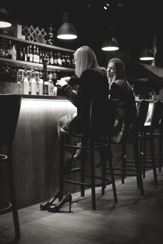#blackandwhite #evening #moscow