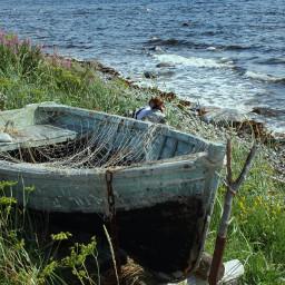 landscape sea boat lovestory