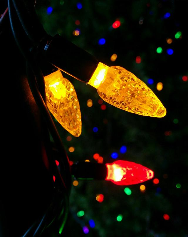 Merry Christmas!!!!!!!!!!!! #bokeh  #lights #Christmas  #colorful  #photography