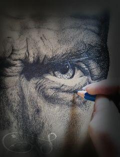 memories drawing pencil blackandwhite eye