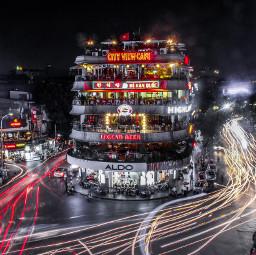 urban color longexposure lightpainting light hanoi canon700d CityLights