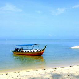 beach view boat niceview hikingview