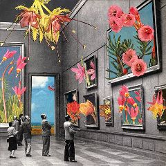 collage vintage collageart retro colorful