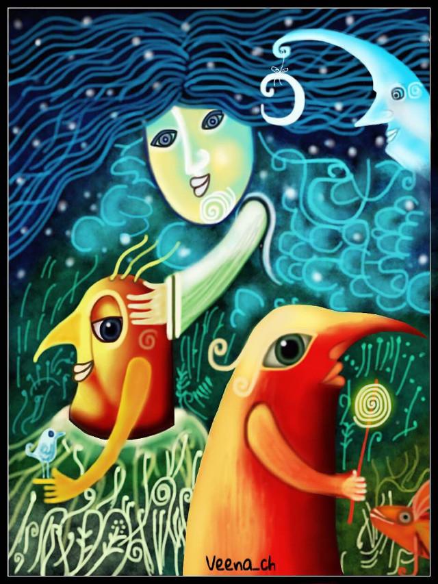 #wppcolorful #drawing #mydrawing #art #digitalart #digitaldrawing #woman #fish