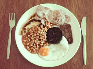 sunday scottish food breakfast fryup