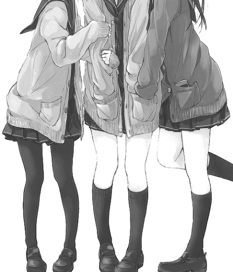 Three girls having fun with toys 10