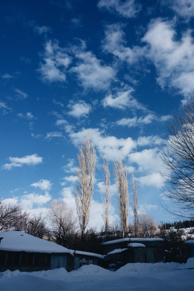 #cute #photography #travel #snow  #sky #winter