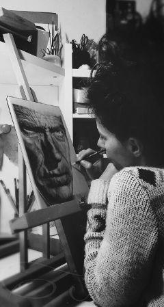myinspiration drawing blackandwhite selfie art