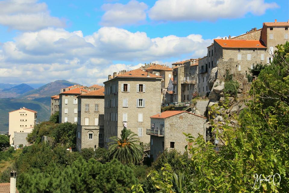 Summer in Sartene/Korsika  #summer #photography #oldvillage#colorful   #village#travel #houses #emotions #romantic
