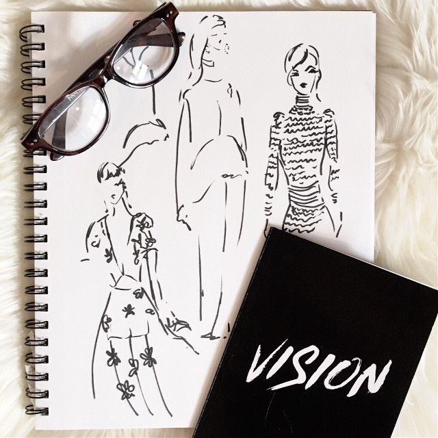 What does a girl need? Sketches and some vision