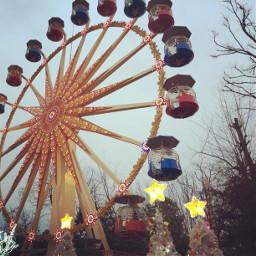 interesting art photography ferriswheel amusementpark