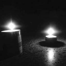 blackout candles