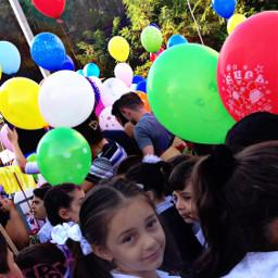 happy school september september1st balloon
