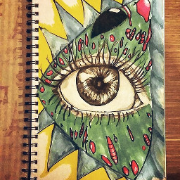 drawing abstract art sketchbookart