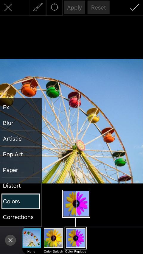 Color Replace - Tutorials - PicsArt