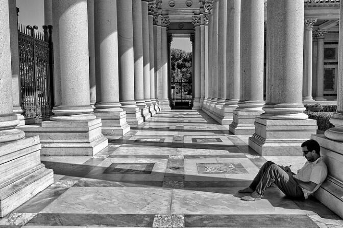 Rome. Black&white.  #blackandwhite #rome #roma #streetphotography #street #city #photography
