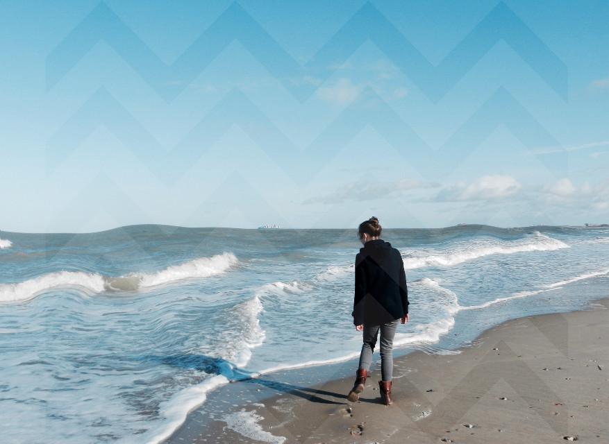 #vacation #belgium #2016 #waves #beach #sea #photography