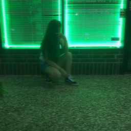 photography photostory light night green