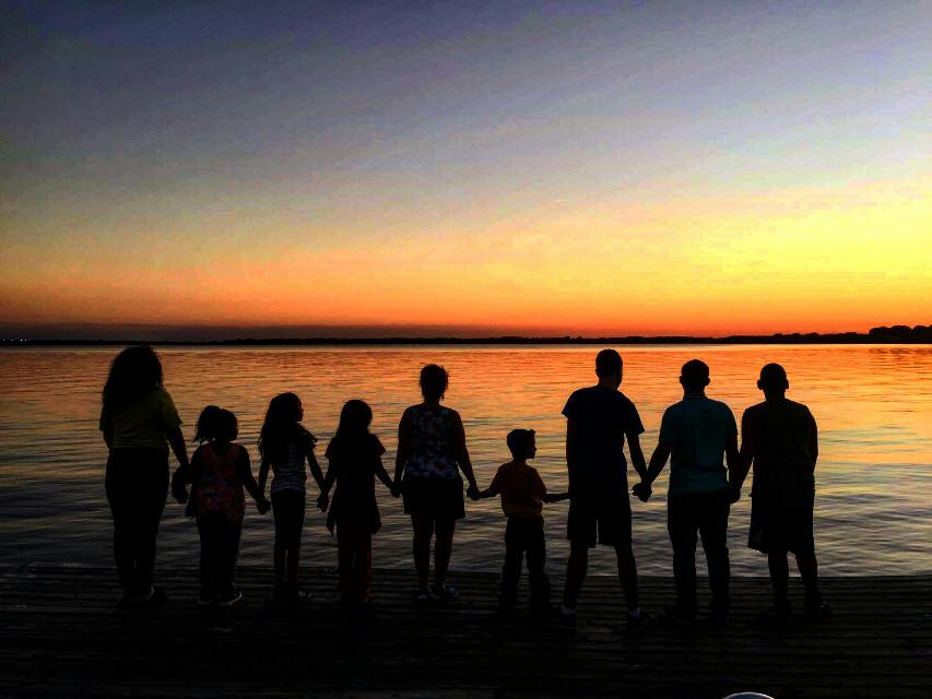 #colorsplash #grandchildren #sunset