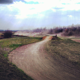 freetoedit motocross track trackday colorful