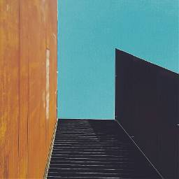 minimalism industrial colours squared