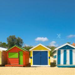 australia beach melbourne beachhouses photography