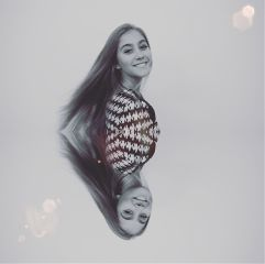 mirroreffect blackandwhite smile laugh interesting freetoedit