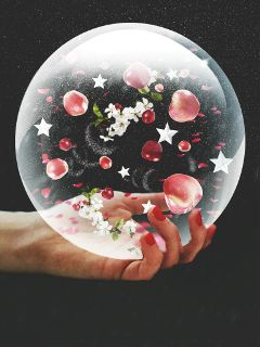 fteapple bubble hand apples stars