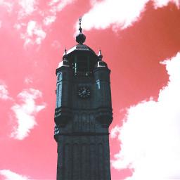 edit playwithpicsart clouds sky pink