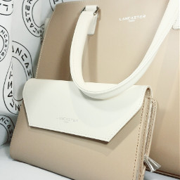 bag sac lancaster white blanc