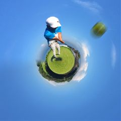 tinyplanet golf interesting freetoedit sport
