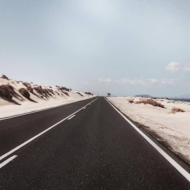 Infinity. More on Instagram: @isr4el  #interesting #art #road #dunes #paradise #island #volcano #volcanic #sky           #FreeToEdit