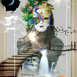 ftesparkler collage colorful emotions freetoedit